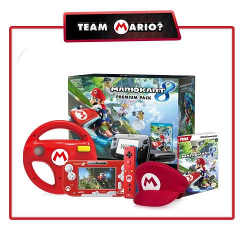 Mario Kart 8 Wii U Bundle. Mario