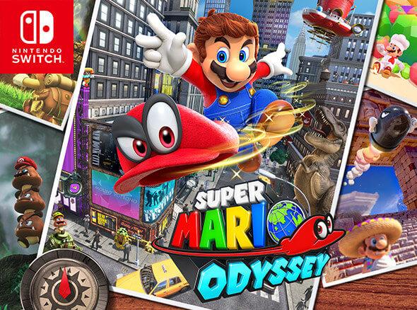 <b>Super Mario Odyssey</b>