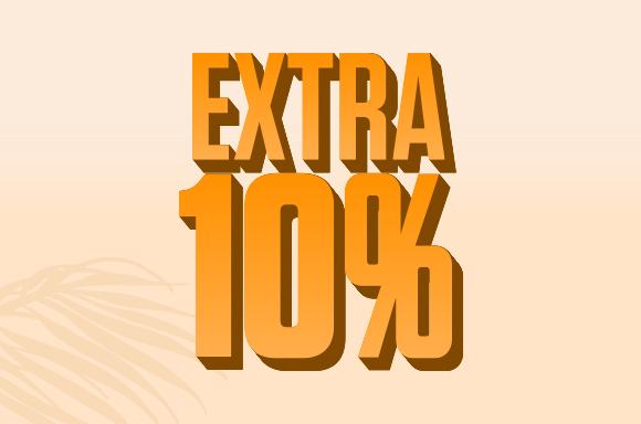 Save Extra 10%