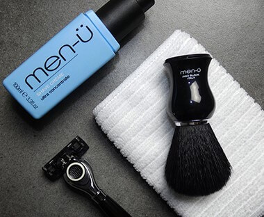 men-ü shaving brushes